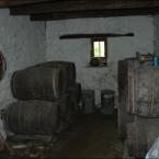 Keller mit Cidrefässern